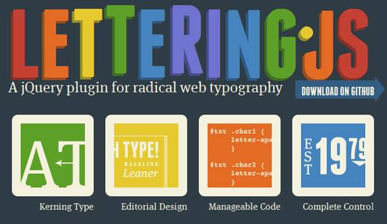 Creative Radical Web Typography