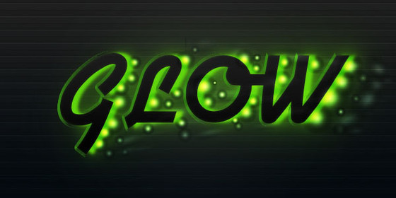 Create a Futuristic Glowing Text Effect