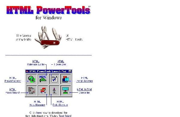HTML Power Tools
