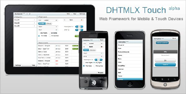 DHTMLX Touch Framework