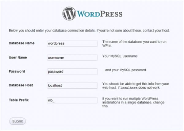 Easiest  way for Making  WordPress talk to its database