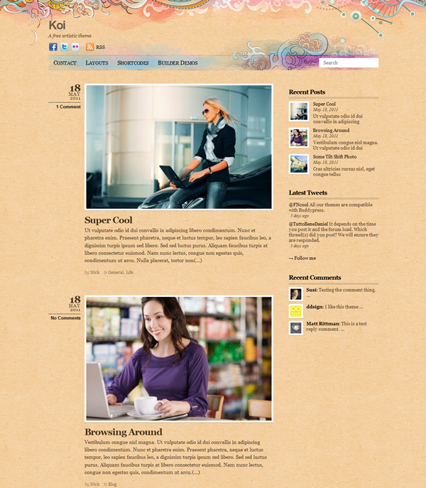 Best Free WordPress responsive themes (1)
