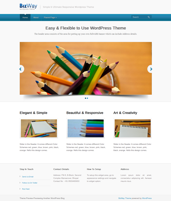 Best Free WordPress responsive themes (7)