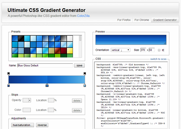 Best CSS tools and Generators (12)
