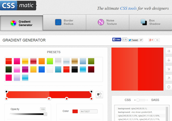 Best CSS tools and Generators (15)