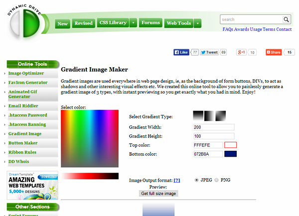 Best CSS tools and Generators (7)