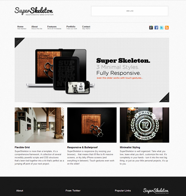 Most Stunning CSS and HTML5 Templates (9)