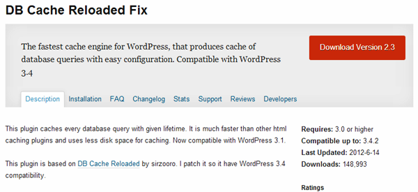 WordPress Cache plugins (1)