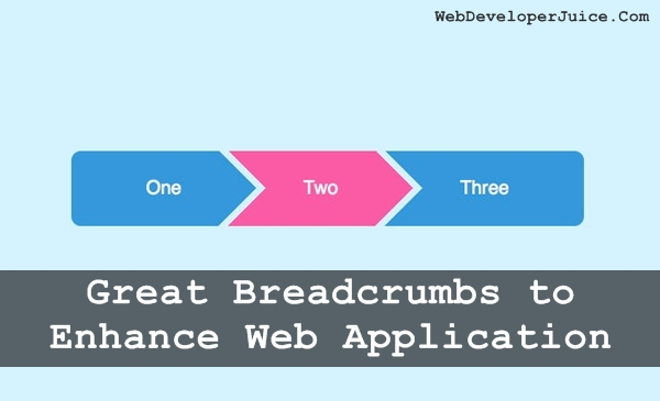 Great Breadcrumbs to Enhance Web Application11