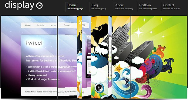 8 creative 3d slider wordpress themes to keep your blog active