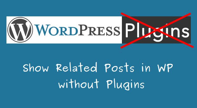 Related-Posts-without-Plugin